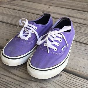 Vans Shoes - Purple Vans